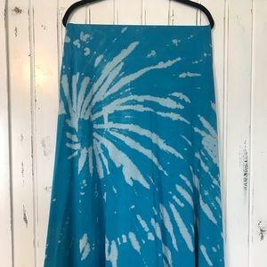 Tie dye LuLaRoe Maxi Skirt